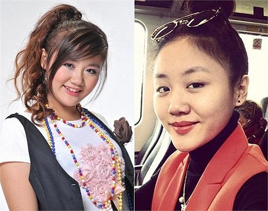 Sau khi giảm cân thành công và thay đổi gu thời trang, Á quân 'Vietnam Idol' Văn Mai Hương tiếp tục 'tậu' thêm vẻ ngoài mới nữa là chiếc cằm nhọn hoắt.