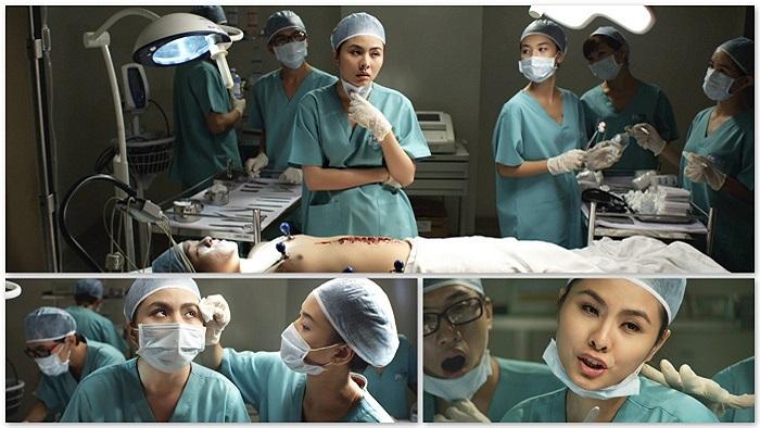 Với việc hóa thân thành một nữ bác sĩ có tính tình quái gở, Vân Trang đã bước một bước dài trên con đường đi của mình.