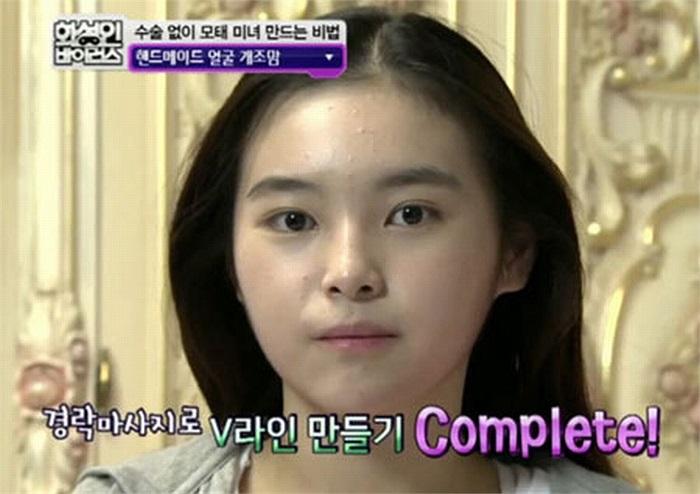 để con gái có làn da đẹp và láng mịn.