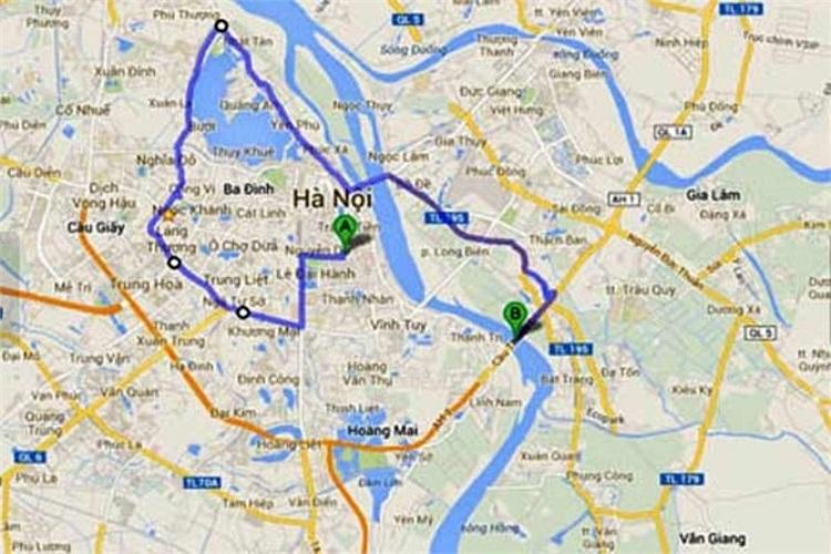 Khi mới bị bắt, Khánh khai nhận xe của bác sỹ Tường chở chị Huyền chạy lòng vòng qua đường Bưởi, Thụy Khê, Lạc Long Quân… rồi mới lên cầu Thanh Trì.