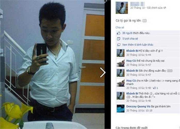 Khánh bị khởi tố thêm một tội danh là Trộm cắp tài sản. Luật sư Thơm cho hay: 'Sau nhiều ngày điều tra, cơ quan công an có đầy đủ bằng chứng buộc tội Khánh đã ăn trộm chiếc điện thoại đắt tiền iPhone 5S của chị Huyền'.