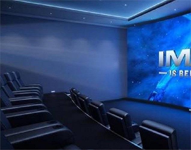 Giải trí là 1 trong những nhu cầu thiết yếu đầu tiên trong việc chọn nhà của các đại gia. Không gì thích thú hơn khi được ăn bỏng ngô, ghế ngồi thoải mái, xem những bộ phim bom tấn 5D trên màn hình lớn.