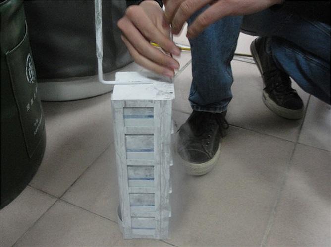 Các mẫu tinh trùng này được bảo quản bằng ni tơ lạnh ở nhiệt độ -196 độ C.