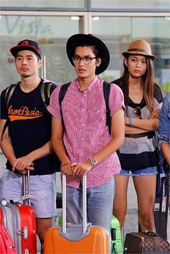 Điểm mặt các thí sinh trong ngôi nhà chung của Vietnam's Next Top Model 2013 được trang trí theo phong cách hiện đại, ấm cúng.