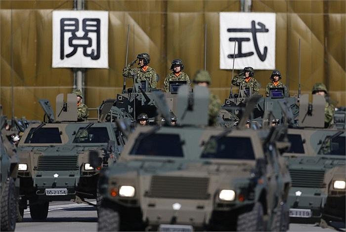 Lễ kiểm tra thường niên của lực lượng quân đội Nhật Bản