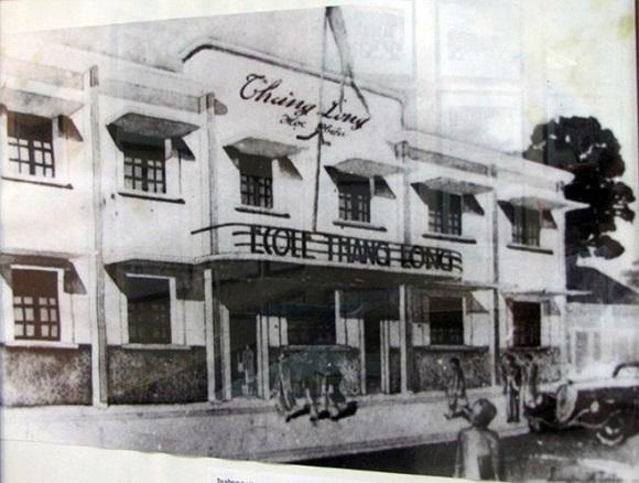 Trường tư thục Thăng Long ngày xưa ở số 20 Ngõ Trạm, Hoàn Kiếm, Hà Nội