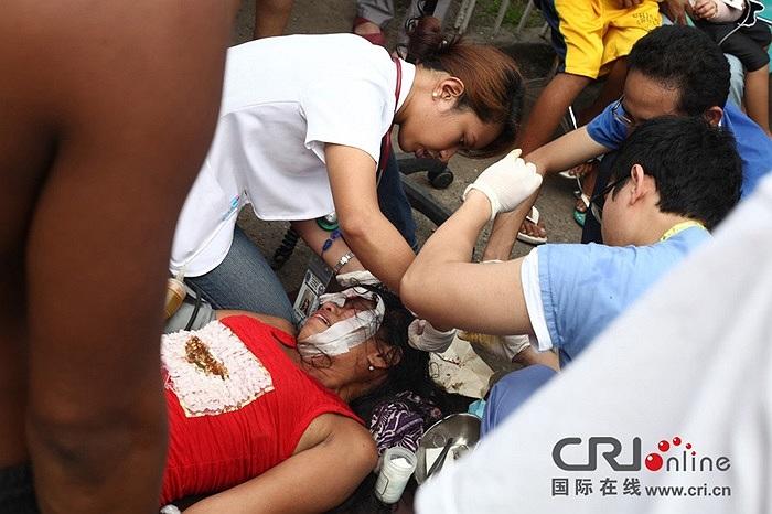 Ít nhất 93 người thiệt mạng trong trận động đất mạnh 7,2 độ Richter ở miền trung Philippines hôm 15/10