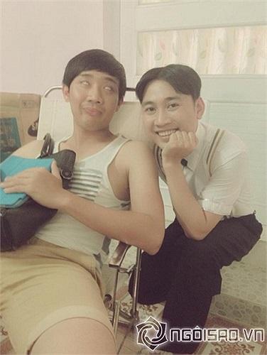 Trấn Thành nhắng nhít cùng Đôn Nguyễn.