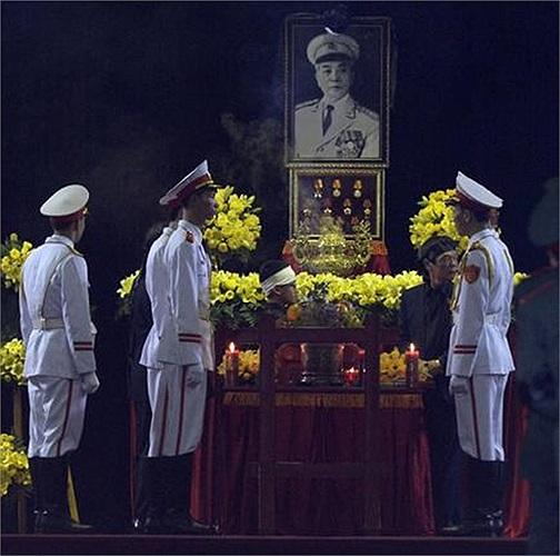 Không khí trang nghiêm bên trong Nhà tang lễ Quốc gia số 5 Trần Thánh Tông, Hà Nội ngày 12/10