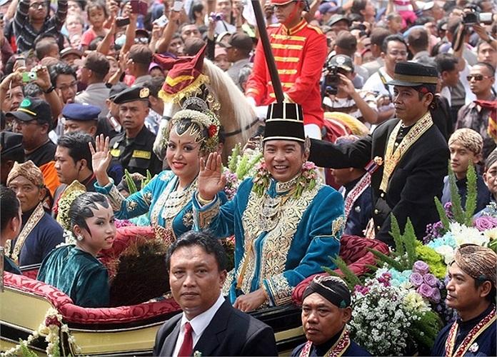 Đám cưới hoàng gia Indonesia