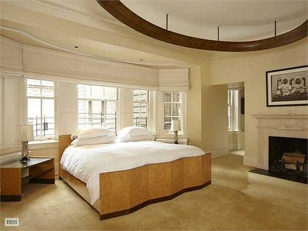 Phòng ngủ khá rộng rãi và thoải mái.