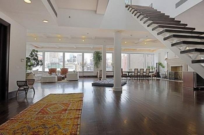 Ngoài ra, Schmidt cũng là chủ nhân của căn hộ penthouse cực kỳ sang trọng tại New York, Mỹ