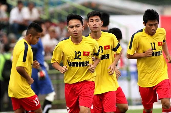 U21 báo Thanh Niên hôm nay có trận đấu cuối cùng ở vòng bảng với U21 Malaysia. Chỉ cần giành được 1 điểm là U21 báo Thanh Niên vào chơi chung kết, gặp lại U21 Sydney. (Ảnh: Thanh Niên)
