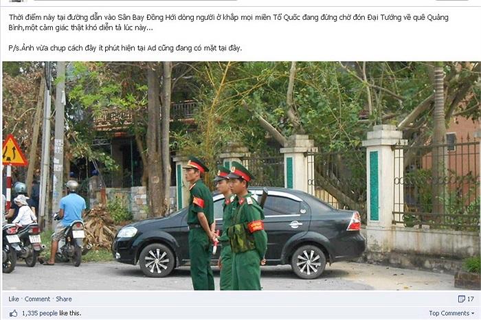 Hình ảnh cập nhật của cộng đồng mạng tại Quảng Bình