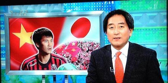 Đài truyền hình Nhật Bản đã đưa tin việc Công Vinh từ chối ra hạn hợp đồng với CLB Sapporo đang chơi ở giải J-League 2.