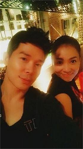 Thu Minh và Nathan Lee luôn thân thiết bên nhau.