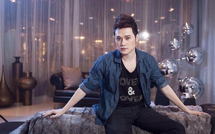 Quang Vinh trong bộ hình mới.