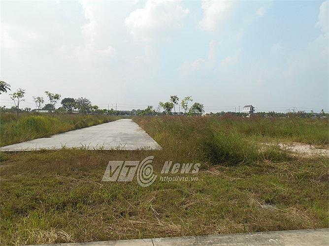 Vùng đất phân lô do bị treo nên trở thành hoang hóa