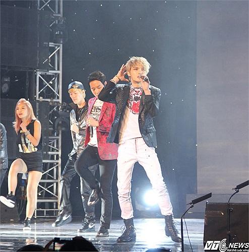 Nhân vật chính của buổi biểu diễn- nhóm nhạc thần tượng Hàn Quốc JYJ
