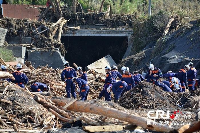 Ít nhất 22 người chết, 47 người mất tích sau khi cơn bão mạnh nhất thập kỷ Wipha tấn công đảo Oshima của Nhật Bản hôm 16/10