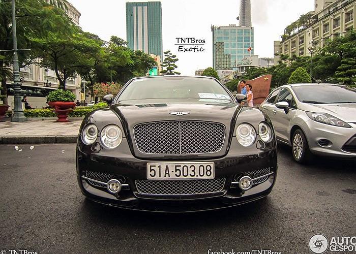 Xe siêu sang Bentley Mansory Continental Flying Spur