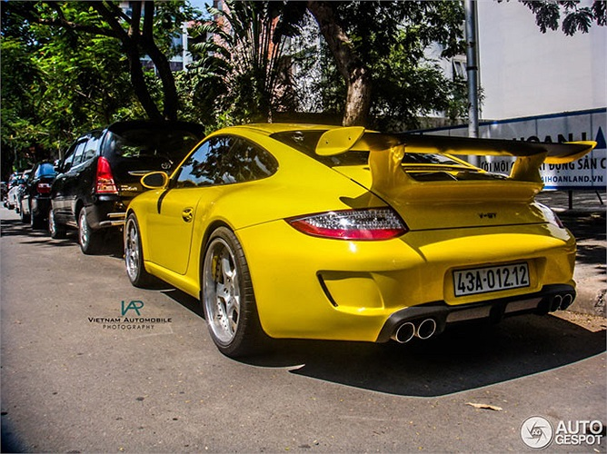 Hàng hiếm Porsche Vorsteiner 977 V-GT