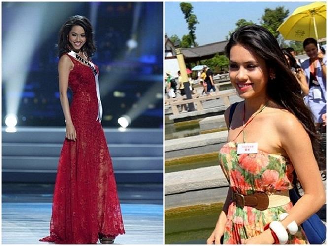 Năm 2012, Hoàng My đại diện nhan sắc Việt tham dự cuộc thi Miss World 2012. Song cô vẫn không nhận được sự ủng hộ từ công chúng. Tại cuộc thi mang tầm quốc tế, Hoàng My khá mờ nhạt với ngoại hình không đạt chuẩn và gu thời trang thiếu đẳng cấp.