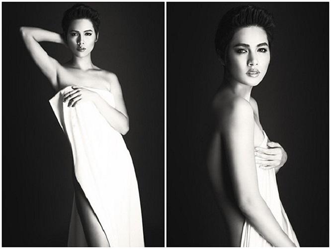 Phong cách gợi cảm là chủ đề chính được người đẹp thể hiện trong bộ ảnh thời trang mới nhất.