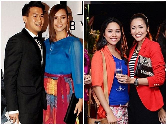 Sau cuộc thi Miss World 2012, Hoàng My gây bất ngờ khi luôn xuất hiện cạnh em chồng sắp cưới của Tăng Thanh Hà là Phillip Nguyễn. Nhiều đồn đoán nảy sinh mối quan hệ tình cảm giữa hai người.