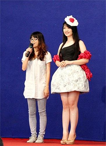 Trang phục được các BGK ưng ý nhất trong cuộc thi thiết kế thời trang xoay quanh chủ đề hoài niệm, cổ điển.