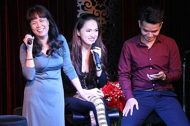 Hương Giang Idol đã có buổi giới thiệu sản phẩm âm nhạc đầu tiên của mình đến với khán giả.