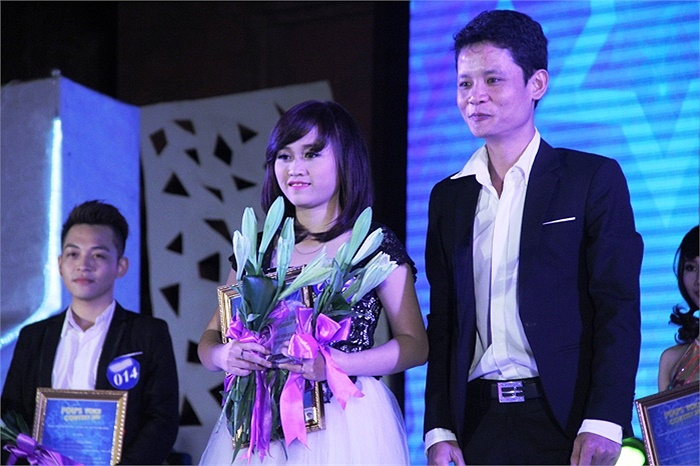 Lê Thị Thu An giành giải thí sinh được yêu thích nhất