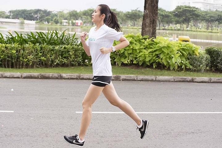 Giải chạy việt dã này do chính Tăng Thanh Hà đứng ra tổ chức.
