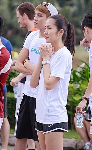 Mặc dù rất mệt khi luyện tập, Tăng Thanh Hà vẫn thực sự toả sáng trong buổi tập này.