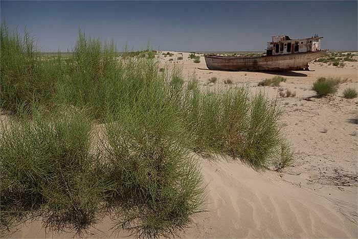 Tuy nhiên, thời tiết khu vực này trở nên vô cùng khắc nghiệt, phần lớn đất đai đã bị sa mạc hóa.