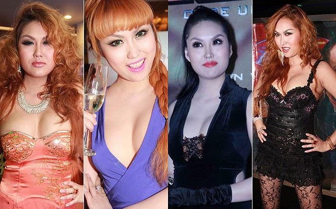 Từ khi còn da nâu, Phi Thanh Vân vốn có thói quen trang điểm khá đậm.