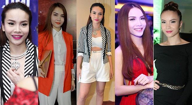 Nữ ca sỹ Yến Trang cũng chăm chút tỉ mỉ cho gương mặt mỗi khi xuất hiện, cô thường xuất hiện với gương mặt trắng phấn, màu son môi hồng hoặc đỏ, mặc dù thi thoảng không ăn nhập với trang phục. Tổng hợp theo Tri thức, Tiin.
