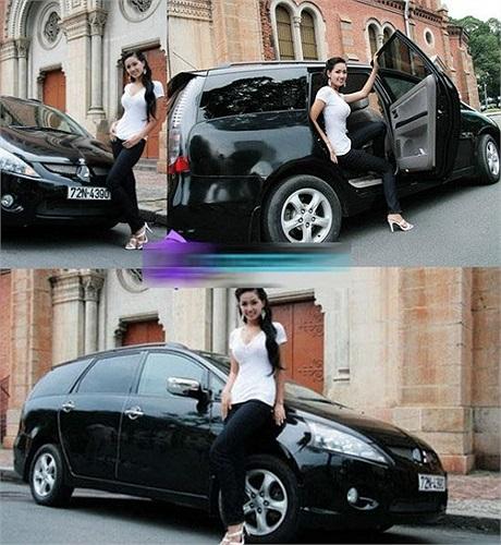 Xế hộp: Chiếc xe Mitsubishi Grandis-E được Hoa hậu Việt Nam 2006 tậu về từ năm 2009 và vẫn được sử dụng đến bây giờ. Grandis luôn là dòng xe 7 chỗ cao cấp được lắp ráp tại thị trường Việt Nam.