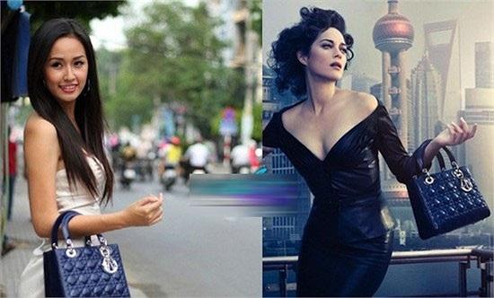 Mai Phương Thúy sở hữu 2 chiếc túi giống hệt nhau về kiểu dáng, chỉ khác màu của thương hiệu Céline Luggage Tute 2.500 USD (52 triệu đồng).