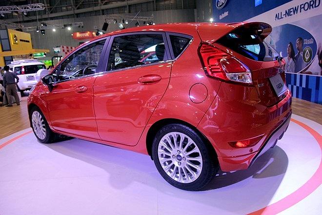 All-New Fiesta S với động cơ eco-Boost.