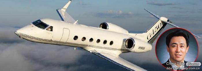 Xu Jiayin, 55 tuổi, chủ tịch Tập đoàn Bất động sản Evergrande ở Quảng Châu, người giàu thứ 10 Trung Quốc với tài sản 48 tỷ Nhân dân tệ, sở hữu máy ba Gulfstream G450 với giá 250 triệu tệ.