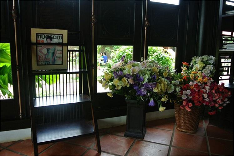 Cổ điển, sang trọng là phong cách mà gia đình người đẹp Thu Hương yêu thích.