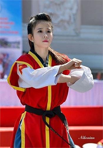 Châu Tuyết Vân là cái tên mới nổi của làng taekwondo Việt Nam