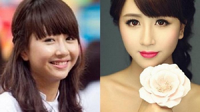 Quỳnh Anh Shyn từng dính nghi án phẫu thuật cằm tuy nhiên, cô bạn vẫn là hotgirl có mặt mộc xinh đẹp.