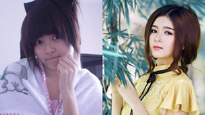 Hình ảnh của Lily Luta - hot girl nổi tiếng trong cộng đồng mạng bởi vẻ đẹp thiên thần. Tuy nhiên, nếu không có sức mạnh của make up và sự yểm trợ của photoshop thì LiLy Luta đã không nổi bật đến vậy.