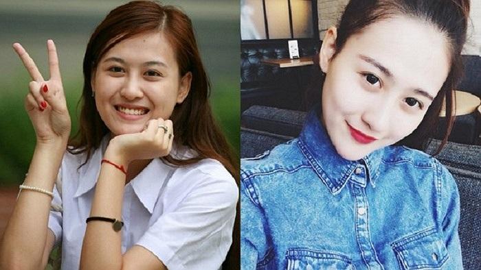 Gương mặt trước và sau khi make up của Hà Lade không có nhiều sự thay đổi, có chăng là sự xinh đẹp và ấn tượng hơn mà thôi.