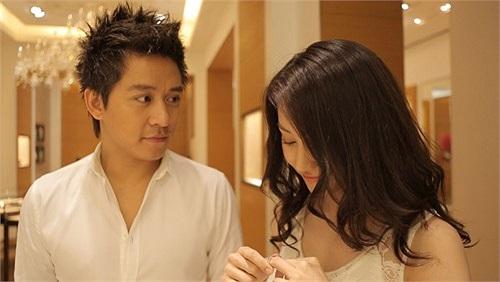 Những hình ảnh lãng mạn giữa họ được thực hiện rất ngọt.