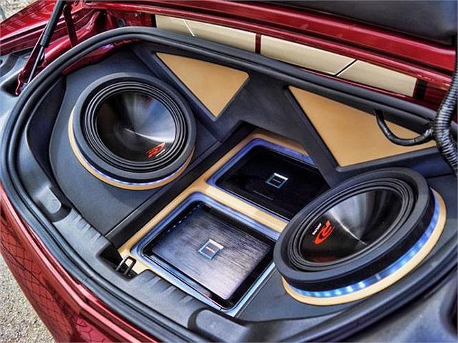 Với dân mê độ xe, chơi âm thanh là một trong những hạng mục quan trọng thể hiện chất xe.