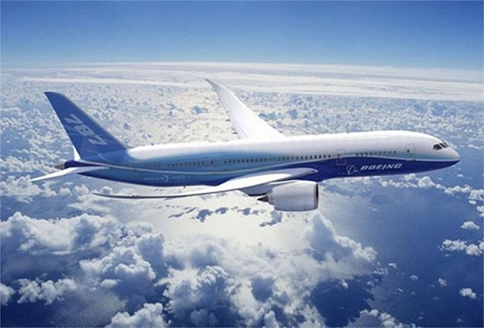Boeing 787 rất nổi bật với hai cánh bay có độ cong mềm mại đặc trưng. Theo thông tin từ Boeing, Vietnam Airlines có đơn đặt mua 8 chiếc 787 Dreamliner và thuê 77 chiếc khác qua các công ty cho thuê máy bay.