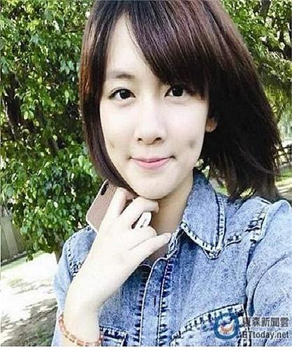 Tuy nhiên, điểm nhấn cho vẻ đẹp của Yu chính là khuôn mặt tròn trĩnh, mái tóc ngắn và hai má lúm đồng tiền duyên dáng.